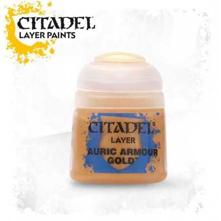 AURIC ARMOUR GOLD colore LAYER Citadel WARHAMMER Games Workshop BLU 12 ml