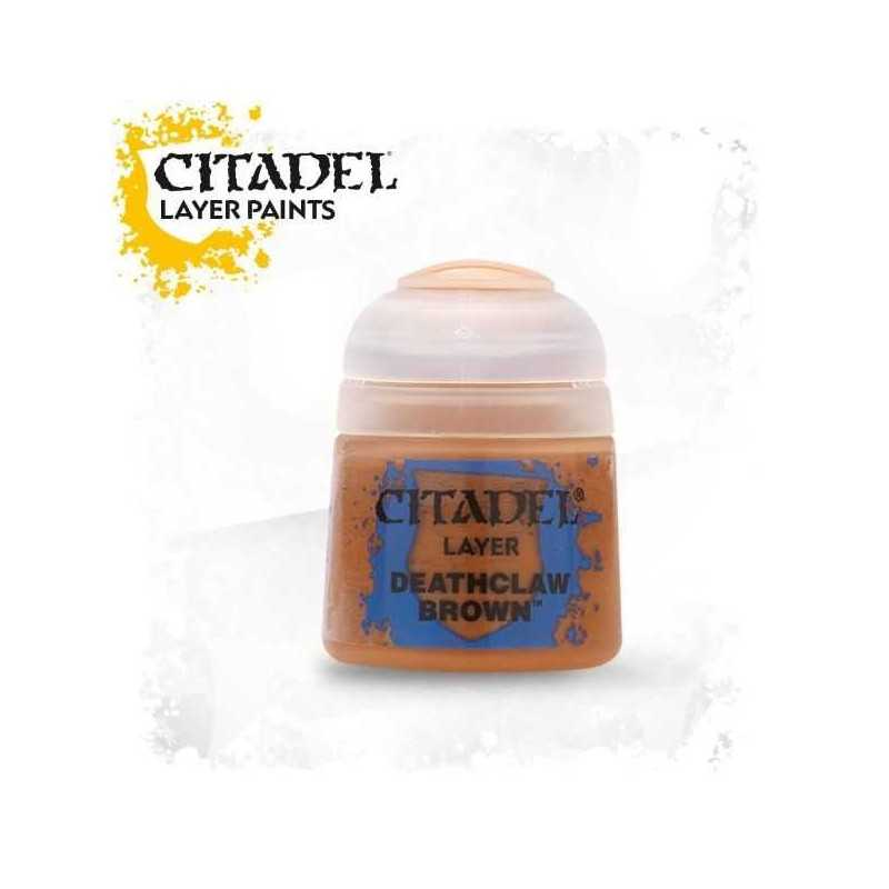 DEATHCLAW BROWN colore LAYER Citadel WARHAMMER Games Workshop MARRONE 12 ml
