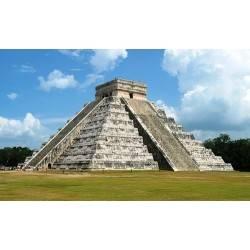 Templo de Kukulcan, Chichen Itza, Mexiko