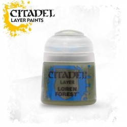LOREN FOREST colore LAYER Citadel WARHAMMER Games Workshop VERDE 12 ml