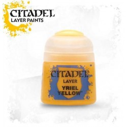 YRIEL YELLOW colore LAYER Citadel WARHAMMER Games Workshop GIALLO 12 ml