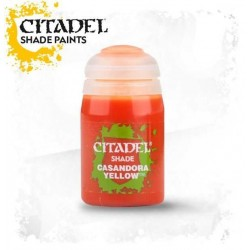 CASANDORA YELLOW colore SHADE Citadel WARHAMMER Games Workshop GIALLO 24 ml