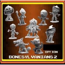 HORROR BONESYLVANIANS in plastica REAPER MINIATURES Kickstarter Bones III limited edition
