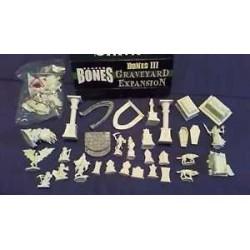 BONES III 3 GRAVEYARD EXPANSION Reaper oltre 30 miniature in plastica Kickstarter limited edition CIMITERO ESPANSIONE