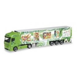 MERCEDES BENZ ACTROS GIGASPACE WIRTZ ART TRUCK Herpa 304276 Auto Trucks Camion scala 1:87 model
