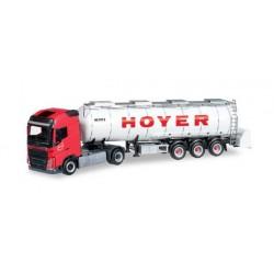 VOLVO FH GL SEMITRAILER FOR GOODS HOYER Herpa 304481 Auto Trucks Camion scala 1:87 model