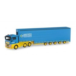 MAN TGX XL SEMITRAILER SIEFERT SPEDITION Herpa 304207 Auto Trucks Camion scala 1:87 model