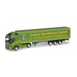 VOLVO FH GL XL REFRIGERATED SEMITRAILER GELLEN SPEDITION Herpa 303474 Auto Trucks Camion scala 1:87 model