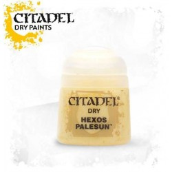 HEXOS PALESUN colore DRY Citadel WARHAMMER Games Workshop GIALLO 12 ml