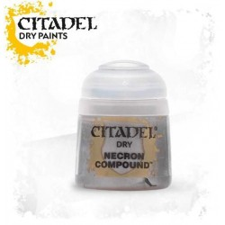 NECRON COMPOUND colore DRY Citadel WARHAMMER Games Workshop ARGENTO 12 ml