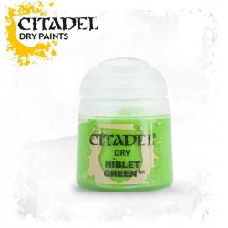 NIBLET GREEN colore DRY Citadel WARHAMMER Games Workshop VERDE 12 ml