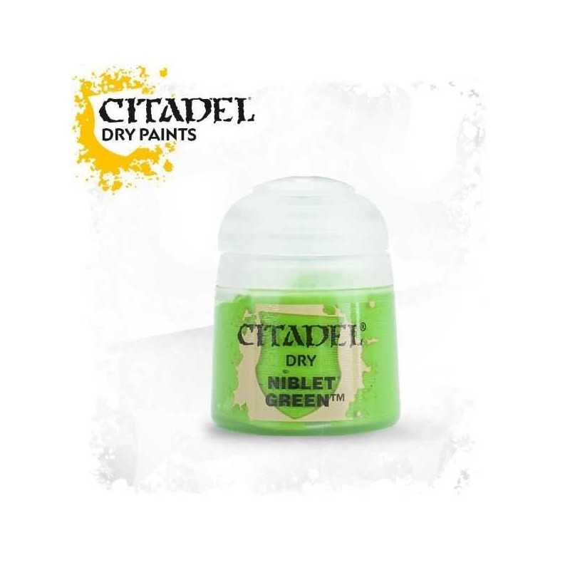 NIBLET GREEN colore DRY Citadel WARHAMMER Games Workshop VERDE 12 ml