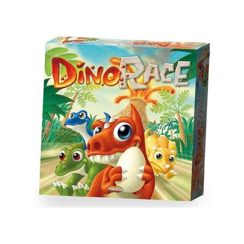 DINO RACE gioco da tavolo DEVIR party game DINOSAURI dinorace ARES età 6+