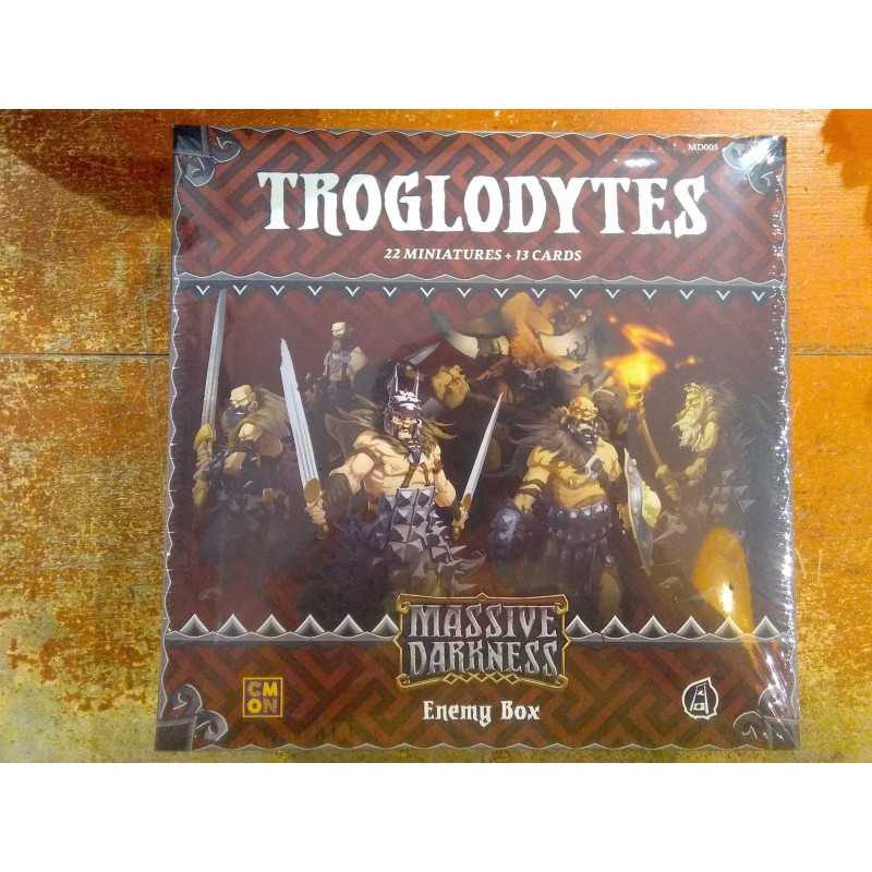 TROGLODYTES MASSIVE DARKNESS ADD-ON Expansion CoolMiniOrNot