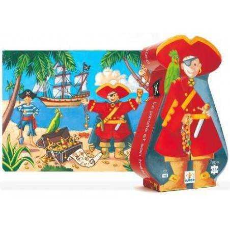 Puzzle Pirata e il suo Tesoro 36 pz, età 4+ DJ07220