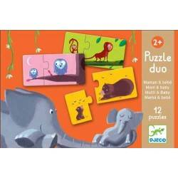 MUM DUO baby PUZZLE 24 pieces, age 3 + Dj08157