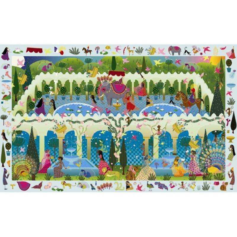 1001 Nacht Entdeckung Puzzle 200 Stk, Alter 6 + DJ07456