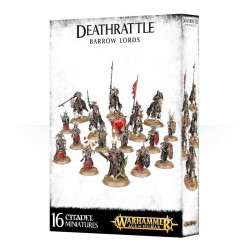 DEATHRATTLE Warhammer BARROW LORDS 16 miniature Citadel GAMES WORKSHOP Age of Sigmar 12+