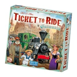 GERMANIA espansione per TICKET TO RIDE germany IMPERO TEDESCO treni MAPPA età 8+