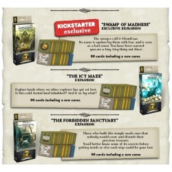 7TH CONTINENT You are the Hero Kickstater Explorer Pledge + bone dice add-on 1200+ cards