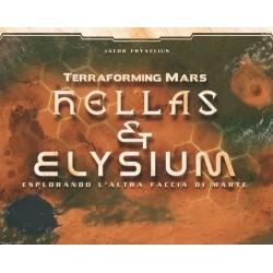 HELLAS & ELYSIUM espansione per TERRAFORMING MARS mappe TABELLONI Ghenos Games ITALIANO