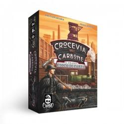 CROCEVIA DEL CARBONE il grande gioco di carte CRANIO CREATIONS vagoni MINIERA età 10+