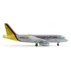 GERMANWINGS AIRBUS A319 HERPA WINGS 509077 scala 1:500 model