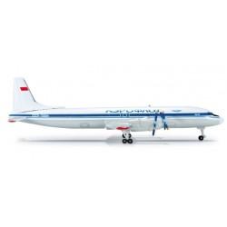 AEROFLOT ILYUSHIN IL-18 HERPA WINGS 520881 scala 1:500 model