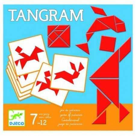 Tangram in legno con 125 figure e soluzioni - Djeco dj08470