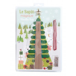 ABETE MAGICO albero di natale GIGANTE Les Petites Merveilles MOULIN ROTY 711234 annaffialo e cresce DA SOLO !