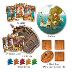 WALK THE PLANK DELUXE Kickstarter Tin Edition 3-5 players card game