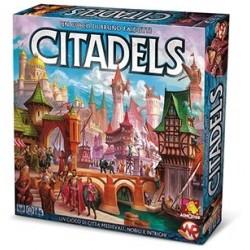 CITADELS nuova edizione italiana 2017 Asmodee gioco di carte bluff
