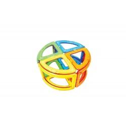 MAGFORMERS Curve 20 Set 20 PEZZI creator COSTRUZIONI magnetiche 3D età 3+