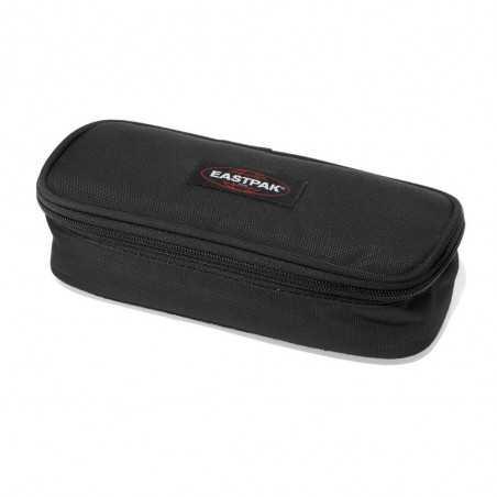 ASTUCCIO con zip OVAL Single BLACK Eastpak NERO vano attrezzato EK717 008 pencil case