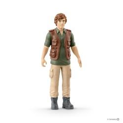 Set GOMMONE CON RANGER Schleich DIORAMA kit da gioco WILD LIFE jungle 42352 miniature in resina 5+