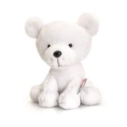 PELUCHE ORSO POLARE 14 cm Pippins Keel Toys CLASSICO pupazzo POLAR BEAR