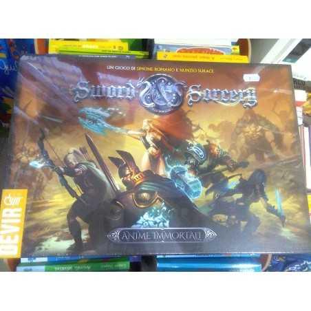 SWORD AND SORCERY edizione italiana gioco di miniature DEVIR dungeon crawler Ares