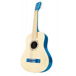 CHITARRA BLU gioco in legno per bambini età 4+ HAPE Blue Guitar
