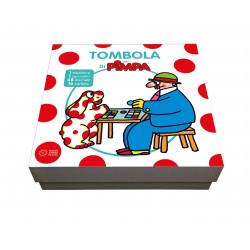 TOMBOLA DI PIMPA gioco in scatola per famiglie ufficiale PANINI da 3 anni