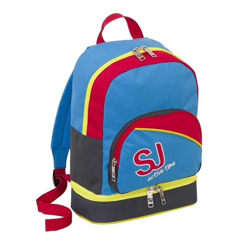 selezione premium d4d1d 935db LUNCH BACKPACK backpack SJ GANG sj active time BOY red blue SEVEN pocket  lunch-lined door