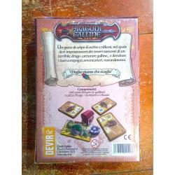 DRAGONI E GALLINE party game fantasy gioco di carte Devir