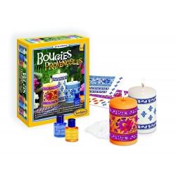 CANDELE PROFUMATE PROVENZALI kit creativo SentoSphere crea le tue candele decorate