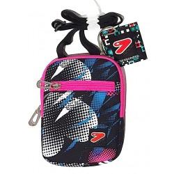 FLAT SHOULDER BAG GIRL borsetta SEVEN borsa CUORI tracollina TRACOLLA regolabile