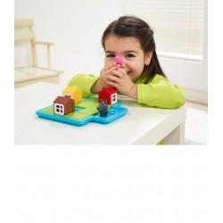 TRE PORCELLINI deluxe puzzle solitario Smart Games Little Piggies rompicapo per bambini 3-6 anni