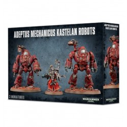 ADEPTUS MECHANICUS KASTELAN ROBOTS 3 miniature Warhammer 40k Games Workshop