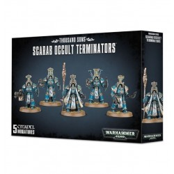 SCARAB OCCULT TERMINATORS THOUSAND SONS Warhammer 40k 5 miniature Games Workshop