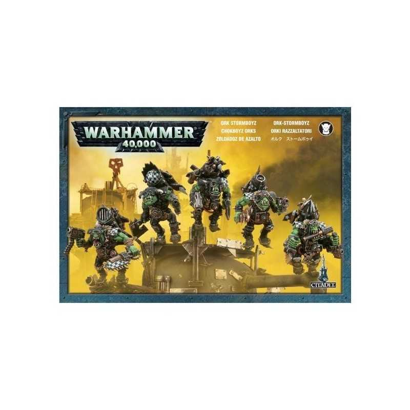 ORKI RAZZALTATORI STORMBOYZ Warhammer 40k Games Workshop 5 miniature
