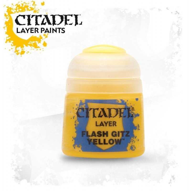 FLAS GITZ YELLOW colore layer Citadel 12 ml giallo Games Workshop