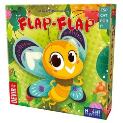 FLAP-FLAP gioco di carte per famiglie DEVIR raccogli le farfalle da 5 anni Flutter-by