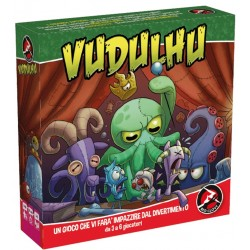 VUDULHU gioco da tavolo PARTY GAME vudù RED GLOVE lovecraft INCANTESIMI età 8+